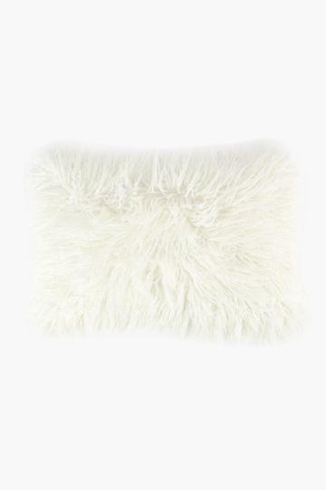 Faux Fur Scatter Cushion, 40x60cm