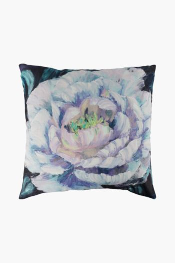 Printed Peony Scatter Cushion, 50x50cm