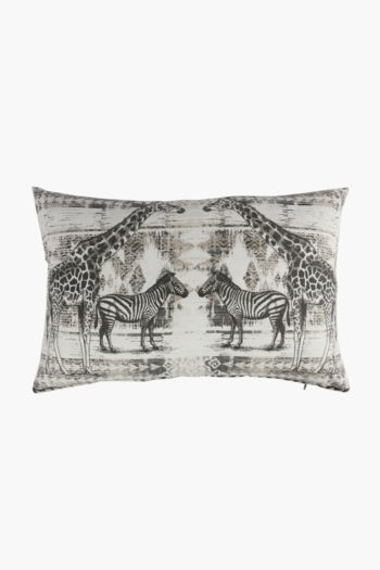 Printed Wildlife Scatter Cushion, 40x60cm