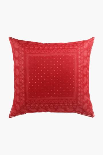 Printed Bandana Scatter Cushion, 45x45cm