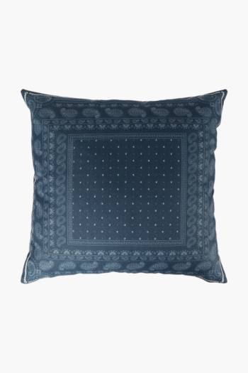 Printed Bandana Scatter Cushion, 45x45cm