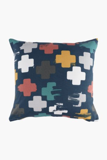 Urban Cross Scatter Cushion Cover, 50x50cm
