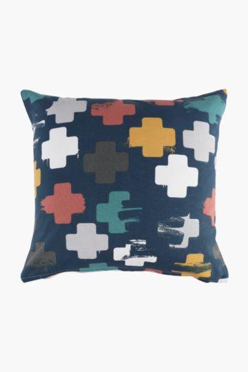 Urban Cross Scatter Cushion Cover, 50x50cm