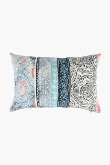 Printed Moroccan Scatter Cushion, 40x60cm
