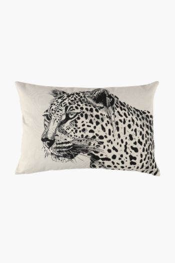 Tapestry Leopard Scatter Cushion, 40x60cm
