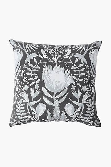 Printed Honey Floral Scatter Cushion Cover, 60x60cm