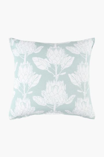 Printed Protea Scatter Cushion Cover, 50x50cm