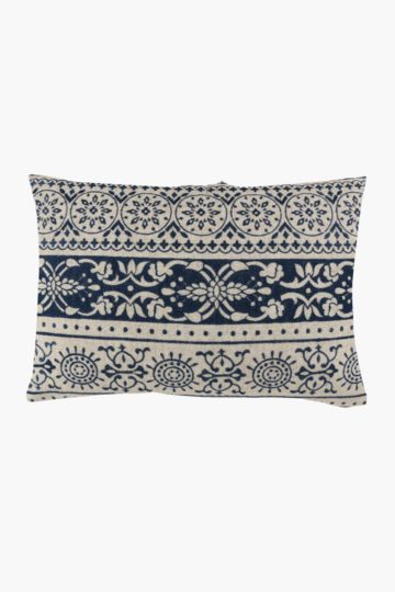 Embroidered Scatter Cushion, 40x60cm