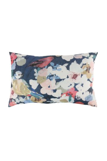 Printed Birds 40x60cm Scatter Cushion