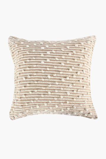 Chenille Bobble 60x60cm Scatter Cushion