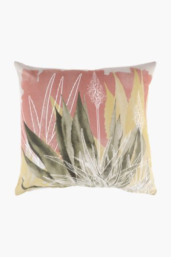 Agave Scatter Cushion Cover, 50x50cm