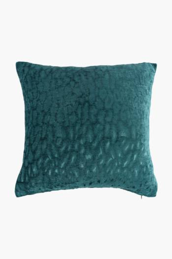 Chenille Crushed Scatter Cushion, 50x50cm