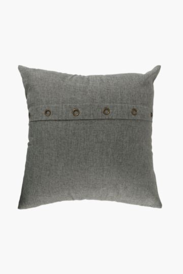 Textured Eyelet Scatter Cushion, 50x50cm
