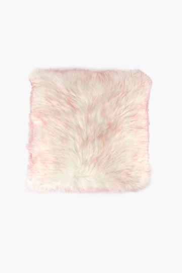 Faux Fur Scatter Cushion, 50x50cm