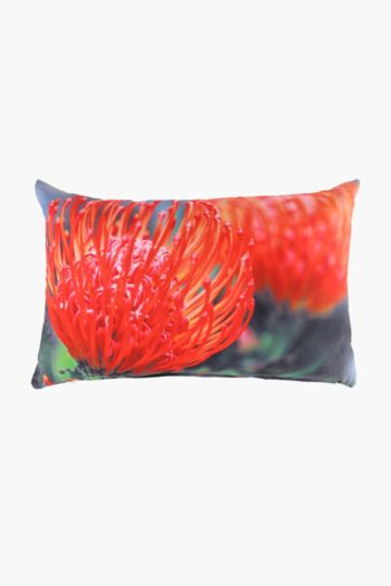 Digital Print Protea 40x60cm Scatter Cushion