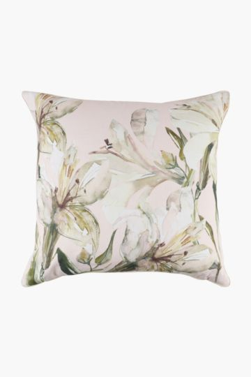 Lily Feather Scatter Cushion, 60x60cm