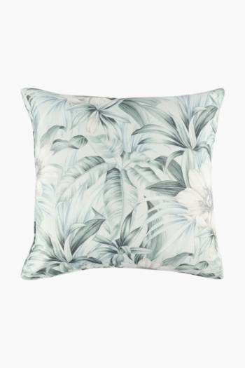 Printed Botanical Feather Scatter Cushion, 60x60cm