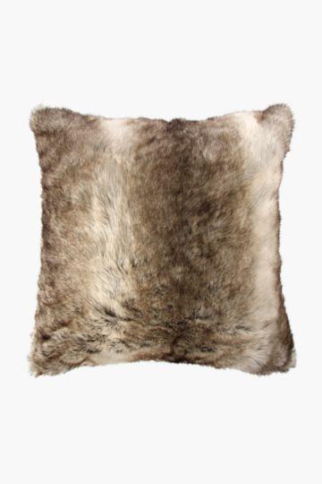 Faux Fur 50x50cm Scatter Cushion