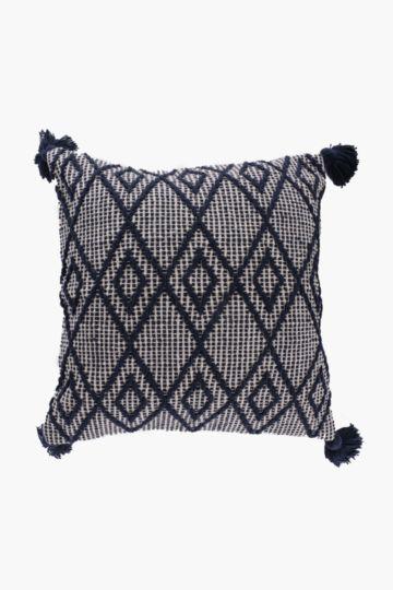 Diamond Tassel 50x50cm Scatter Cushion