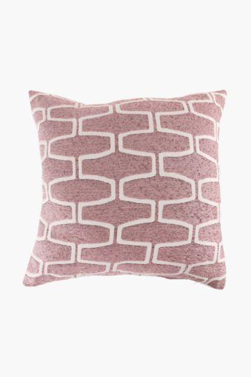 Chenille Tswana Scatter Cushion, 60x60cm