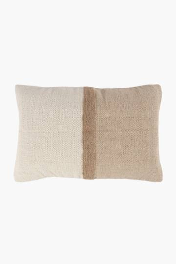 Jacquard 2 Tone Scatter Cushion, 40x60cm