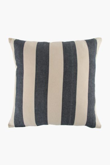 Yarn Dye Stripe 60x60cm Scatter Cushion