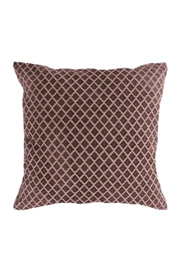 Chenille Geometric 60x60cm Scatter Cushion