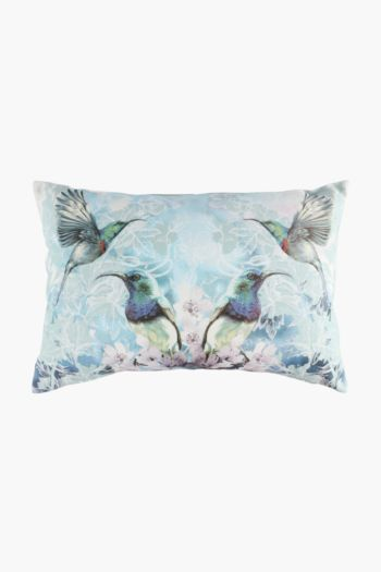 Printed Sunbird Scatter Cushion, 40x60cm