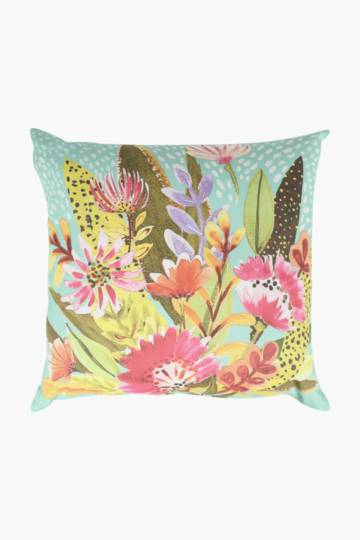 Printed Brights Floral Scatter Cushion, 50x50cm