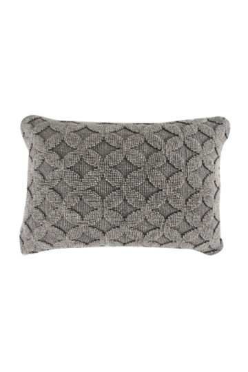 Stone Wash Geometric 40x60cm Scatter Cushion