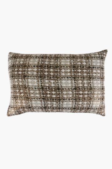 Tweed Metallic Scatter Cushion, 40x60cm