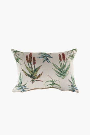 Tapestry Aloe Scatter Cushion, 40x60cm