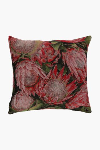 Tapestry Protea Bouquet Scatter Cushion, 48x48cm