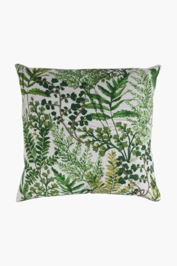 Embroidered Botanical Scatter Cushion, 50x50cm