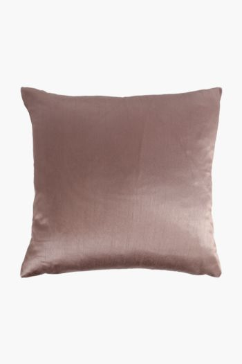 Faux Silk Scatter Cushion Cover, 45x45cm