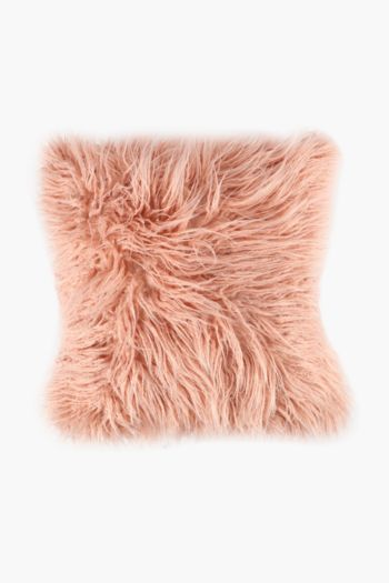 Faux Fur Scatter Cushion, 50x50cm