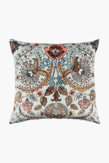 Velvet Jasmine Scatter Cushion Cover, 60x60cm