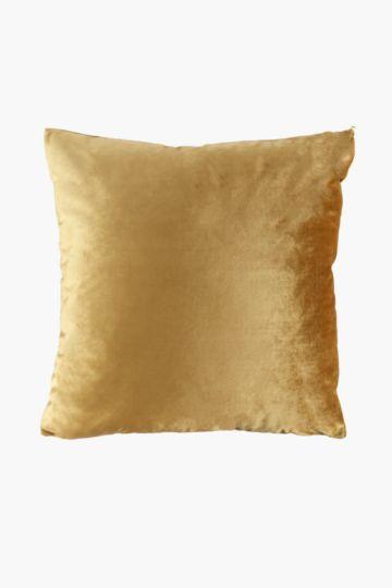 Velvet Feather 60x60cm Scatter Cushion