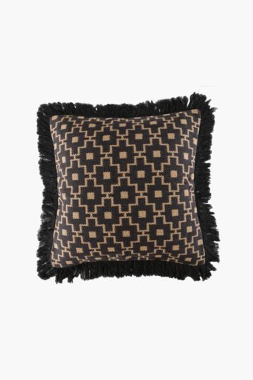 Moroccan Fringe Floor Cushion 70x70cm