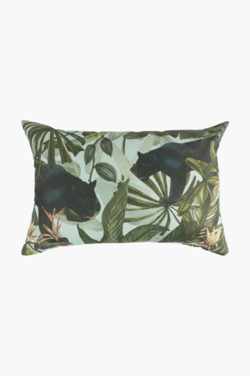 Printed Panther Scatter Cushion, 40x60cm