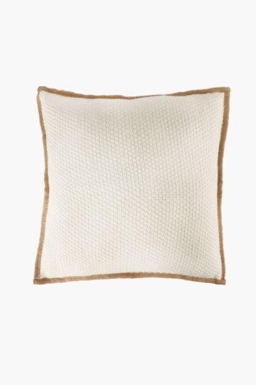 Linen Trim 50x50cm Scatter Cushion Cover