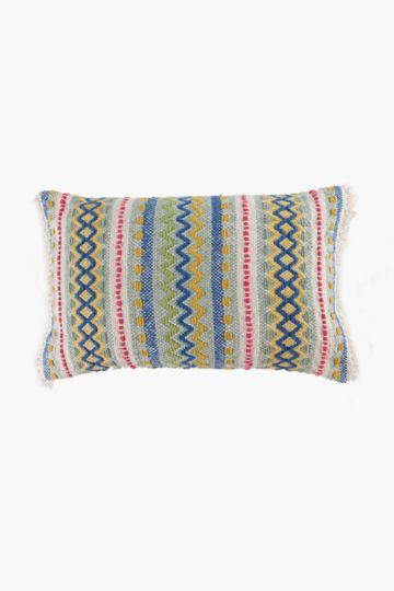 Boho Weave Scatter Cushion, 40x60cm