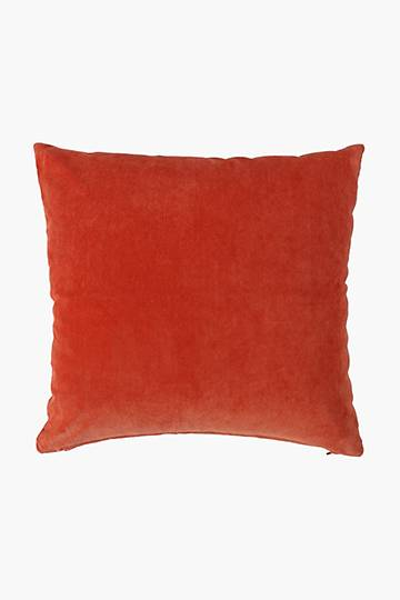 Chenille Ribbed Scatter Cushion, 48x48cm