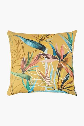Printed Hanna Strelitzia Scatter Cushion, 50x50cm