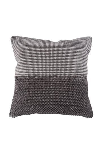 Two Tone Textured Bobble 50x50cm Scatter Cushion
