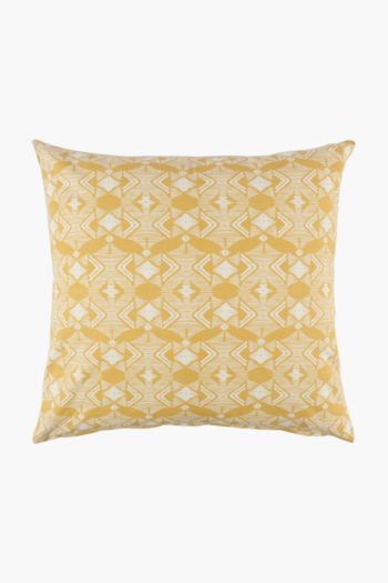 Rustic Geometric Scatter Cushion Cover, 60x60cm
