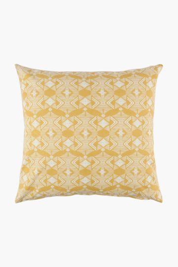 Rustic Geometric Scatter Cushion Cover, 60x60cm