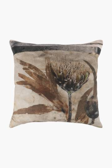 Leoni Aucamp Feather Scatter Cushion, 60x60cm