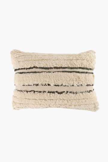 Textured Embellished 40x60cm Scatter Cushion