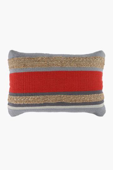 Jute Panel Scatter Cushion, 40x60cm